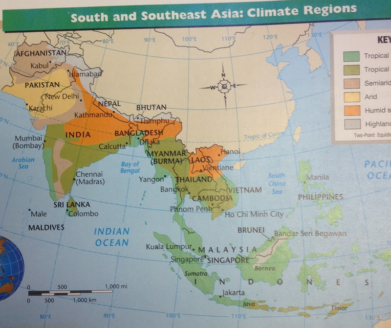 Big Map Of Asia.Class Blog